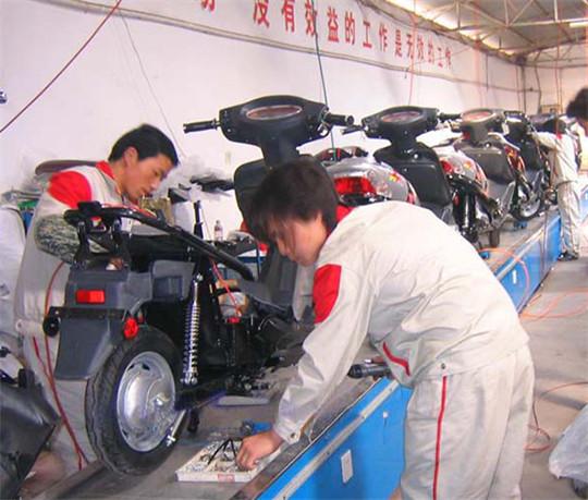 宁波电动车装配线