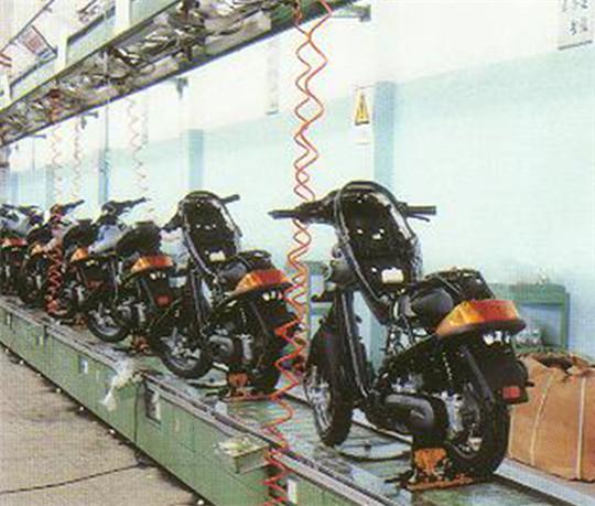 厦门摩托车装配线