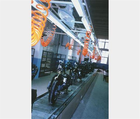 萍乡摩托车装配线