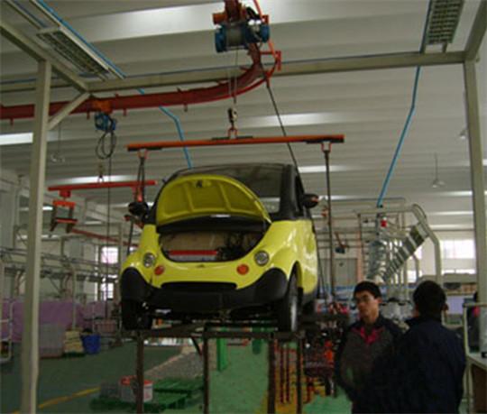 杭州电动汽车装配线