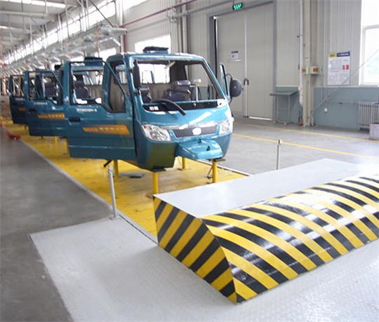 上海大汽三轮车装配线