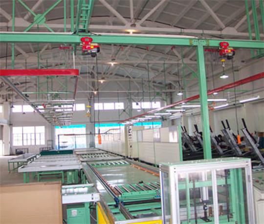 台州跑步机组装生产线