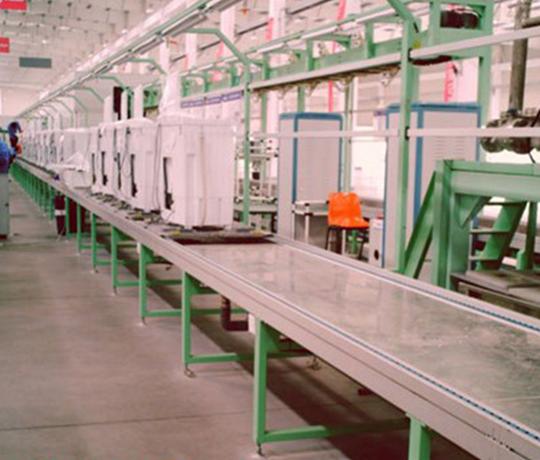 板链式洗衣机装配线