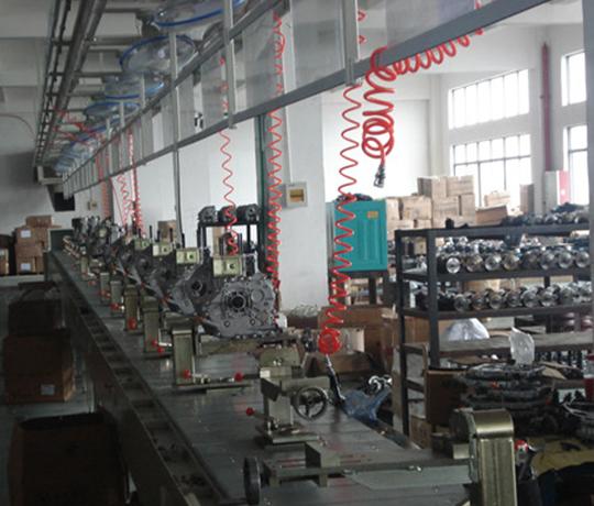 吴江发动机装配线