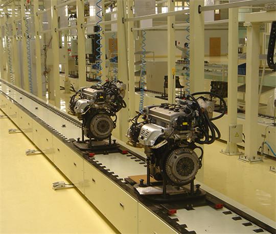 汽车发动机总装线