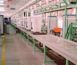 板链式洗衣机装配线2