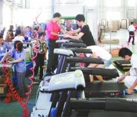 跑步机组装生产线1