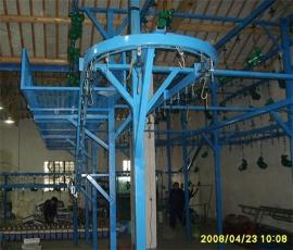 水泵悬挂喷漆线