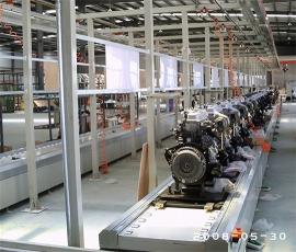 发动机生产线